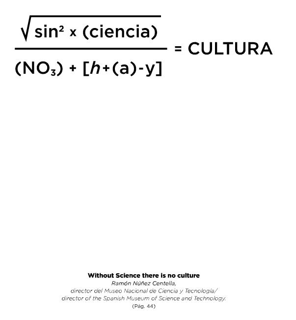Sin ciencia no hay cultura