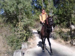"""Fuente: """"A caballo desde España a Alemania"""" (Facebook)"""