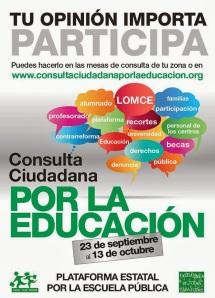 Consulta ciudadana por la educacion