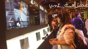 @beaqueen93 probando el Battlefield 4 para PS4