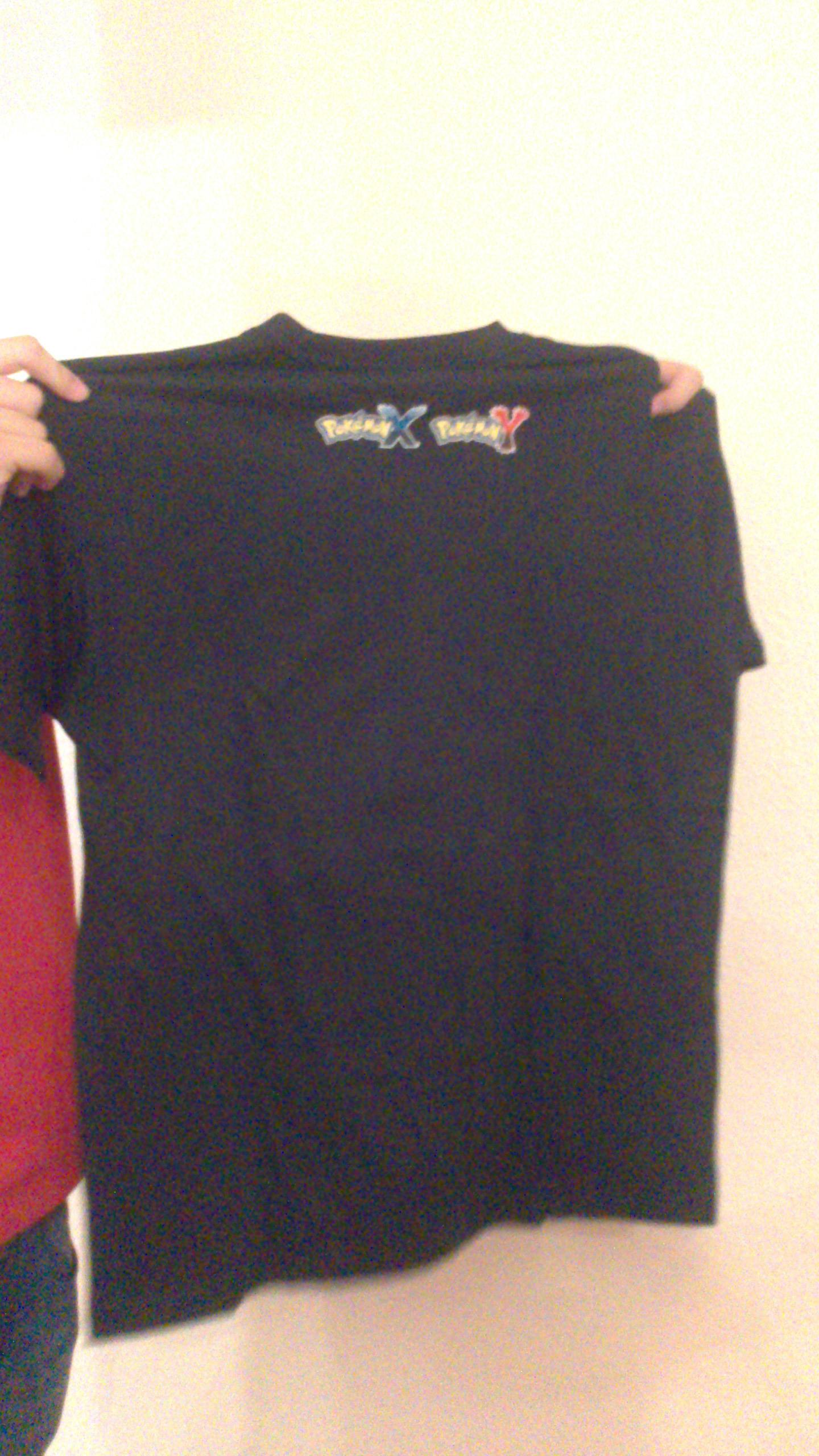 Parte de atrás camiseta sorteada