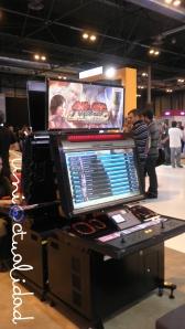 "Fantástica máquina recreativa en HD de ""Tekken""."